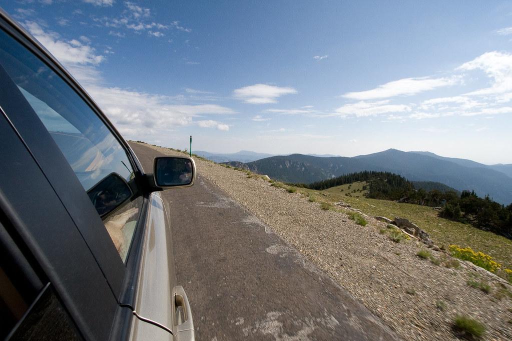 road above treeline
