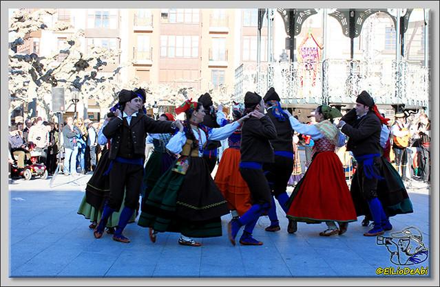 Danzas burgalesas Justo del Río en Briviesca (2)