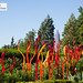 Dale Chihuly\'s Carmel and Red Fiori