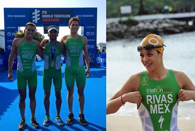 Cuatro triatletas mexicanos a Rio 2016