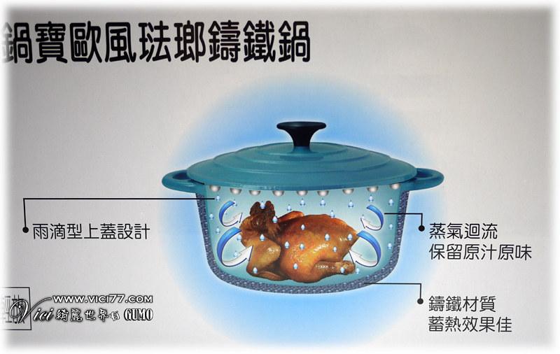 0615鍋寶鑄鐵鍋005