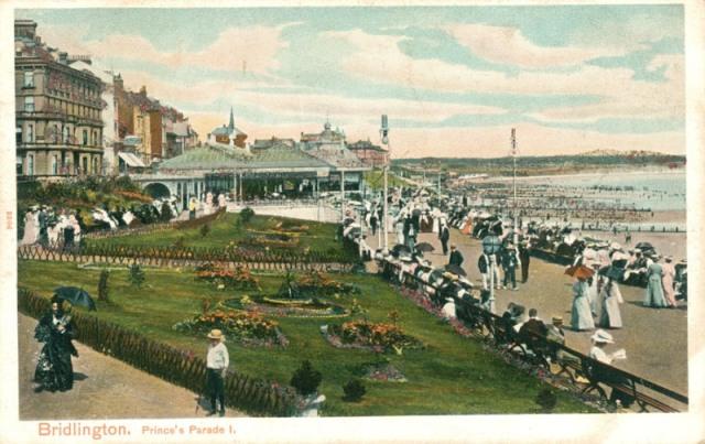 Princes Parade from south, Bridlington, c.1905 (archive ref PO-1-20-71)