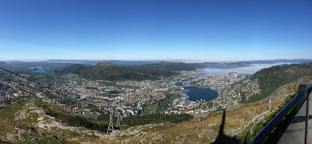 Bergen pano from Ulriken