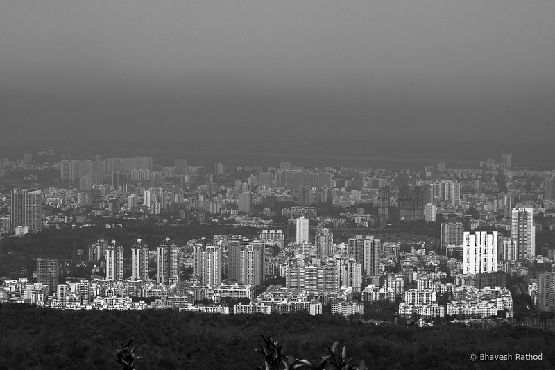 Mumbai City from Sanjay Gandhi National Park