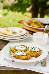 Australian Crash Hot Potatoes with Sour Cream