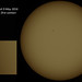 Mercury Transit 9May2016 - First contact