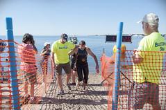 2016-06-25 Swim finish line AP (43) Mark Rasmussen Gerry Payette