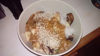 Sesame Hot Noodles