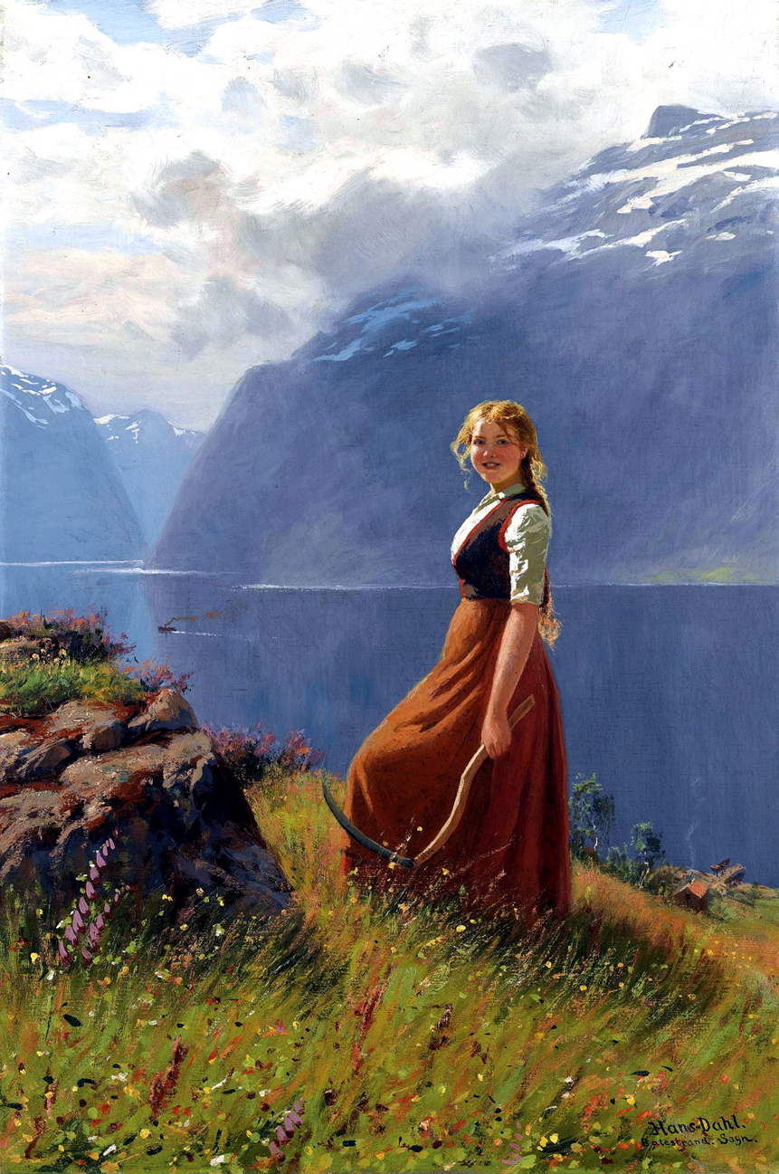 30 Beautiful Paintings of Village - 996.7KB
