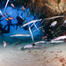 Cornetfish in a Cavern