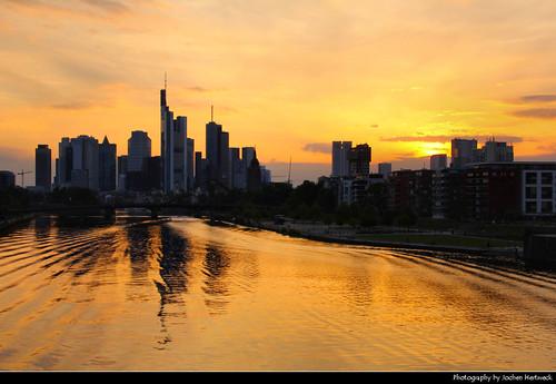 Skyline @ Sunset, Frankfurt, Germany