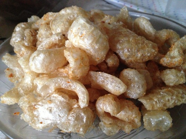 Porky's Best Special Spicy Pork Skin Crackling or Chicharon