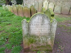 In Memory Of Maria Scott 1860 by Julie70