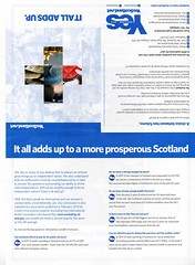 YesScotland leaflet, May 2013