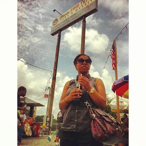@reneekarae at the atl food truck park.