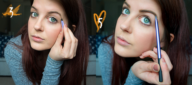 How To - Perfect Brows Steps 3 & 5 | www.latenightnonsense.com