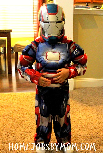 Boys Iron Man Iron Patriot Classic Muscle Costume Review