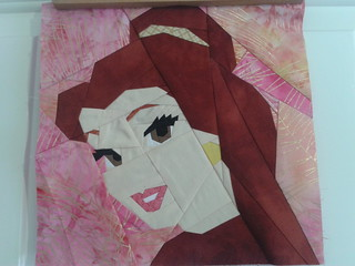 Paper Pieced Belle