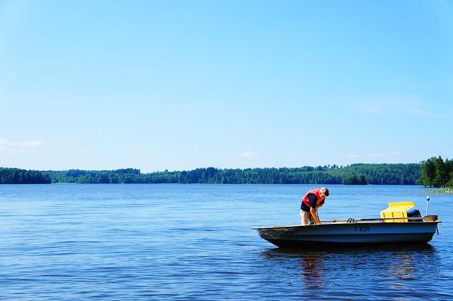 kalamiesjärvellä