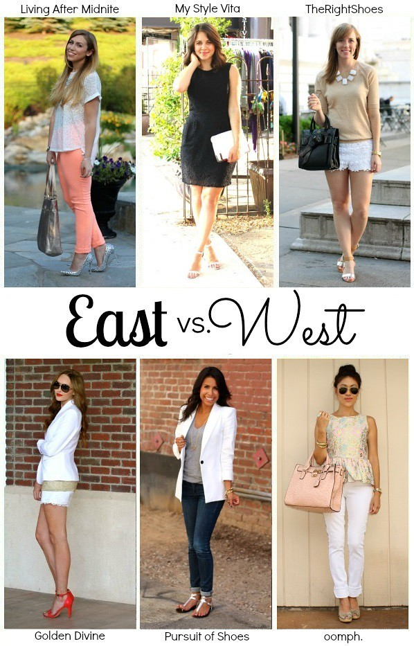 East vs West: Metallics: Style: Jackie Giardina Living After Midnite