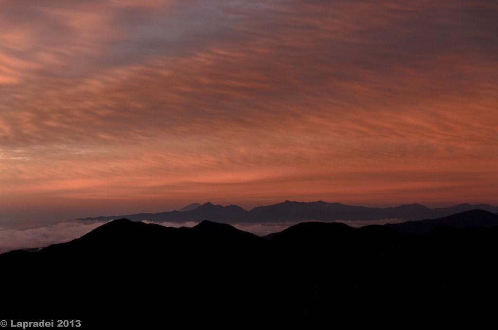 20130623 南アルプスと富士山