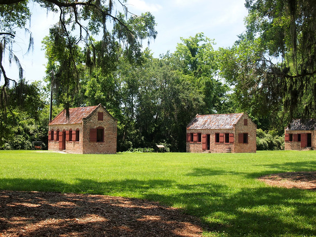 Boone Hall Plantation slave cabins