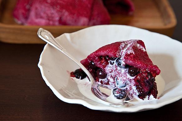 Blackberry, Rosemary, and Yogurt Popsicles by amanda