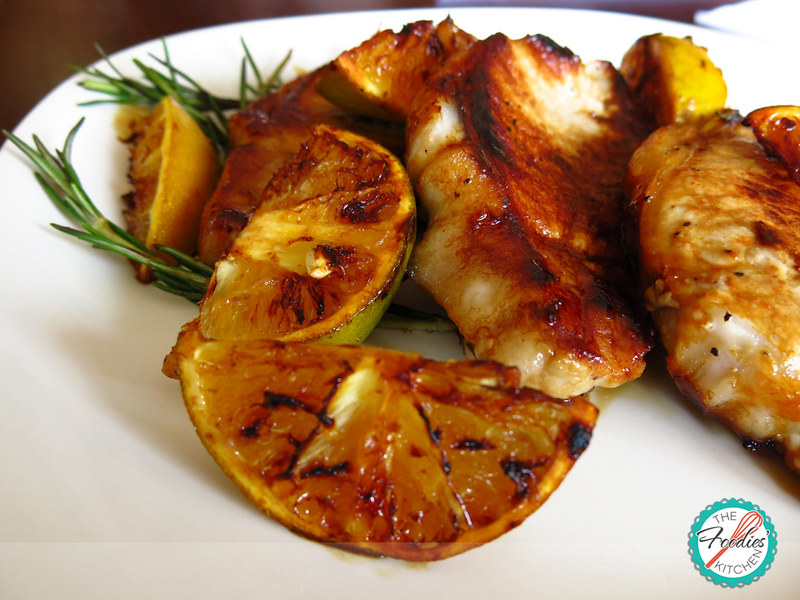 Orange-Honey Glazed Pork Medallions