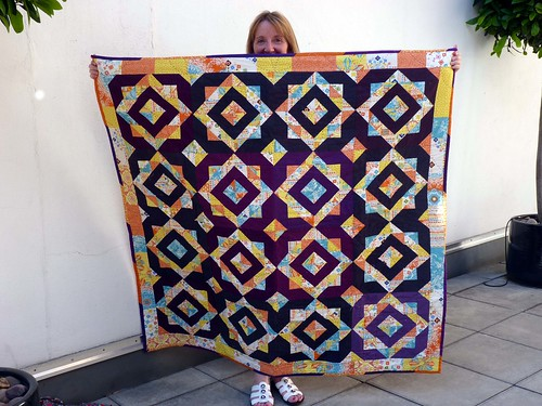 Catherine's Hip Bee Quilt
