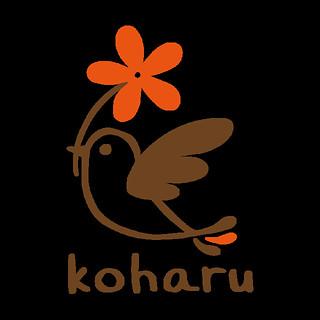"""ロゴマーク """"koharu"""""""