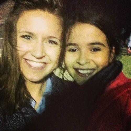 Alyssa with Gabriella