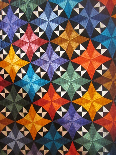 """Circus Stars"" by Teresa Justice, close up"