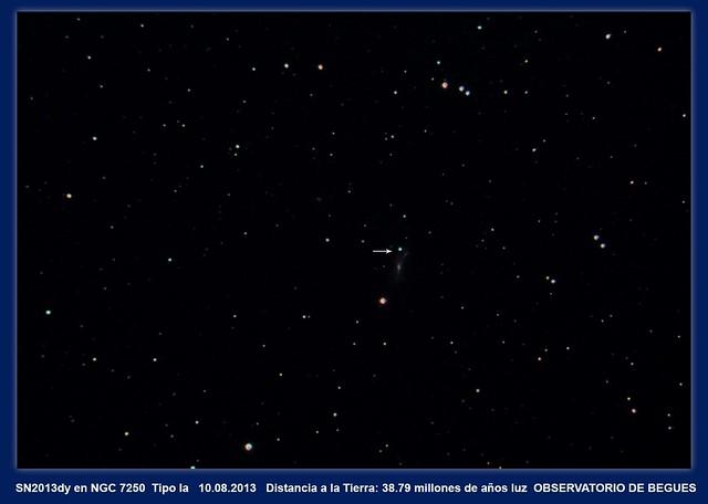 SN 2013dy NGC 7250  10.08.2013