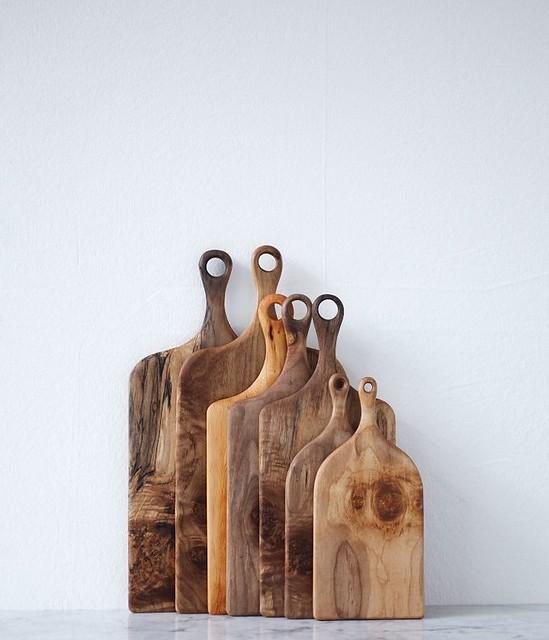 Herriott Grace wood cutting boards