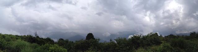 蕪山山頂からの展望