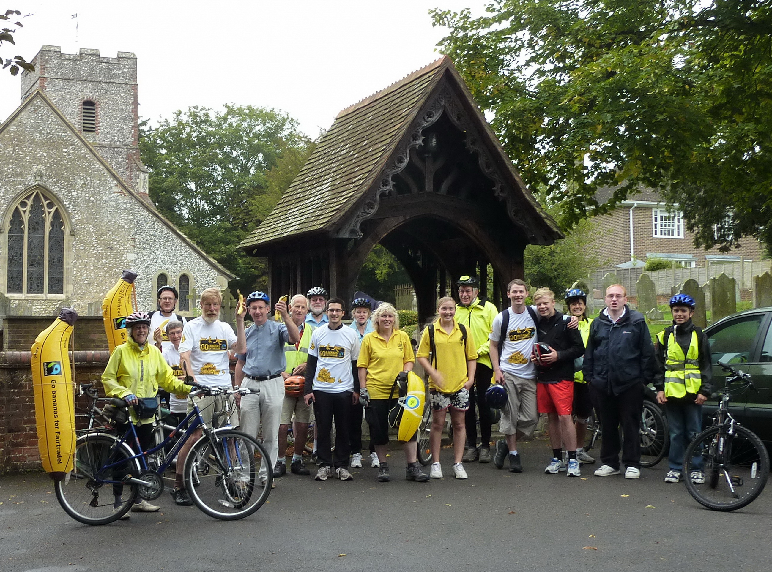 A team of Surrey Ride and Striders in the Leatherhead area