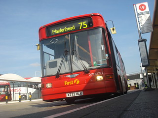 First Beeline DML41772 on Route 75, Heathrow Airport Central Bus Station