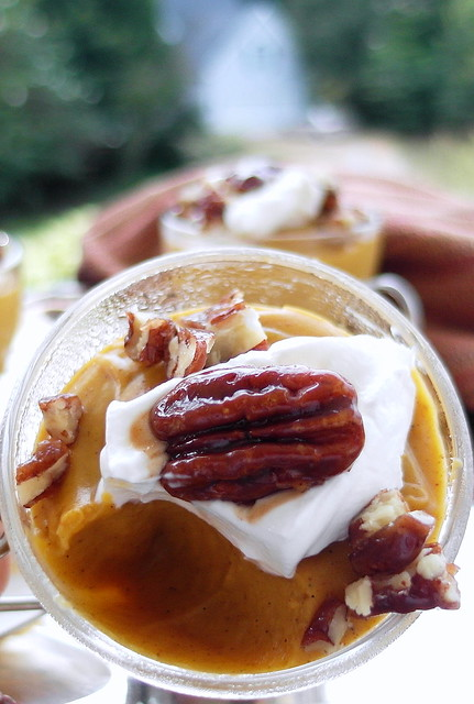 Maple Pumpkin Pudding