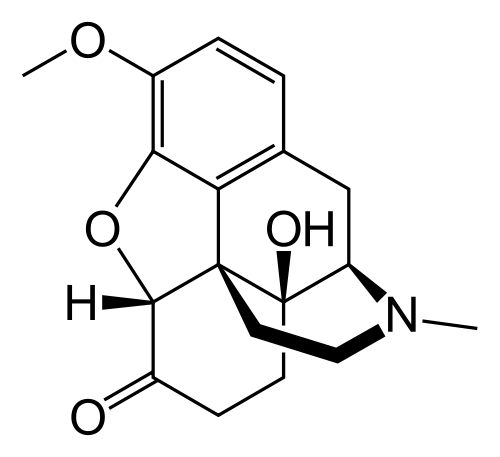 oxycodone chemical structure
