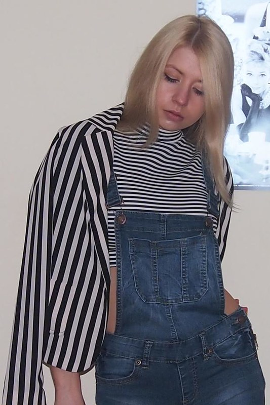 AW13, Autumn Winter 2013, Sam Muses, UK Fashion Blog, London Style Blogger, Dungarees, Denim, Skinny, New Look, Teens, 915, Primark, Monochrome, Stripes, Crop Top, Blazer, Quiz, How to Wear, Styling Ideas, Outfit Ideas