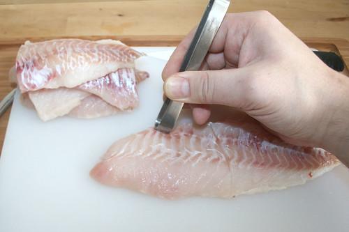 16 - Gräten entfernen / Remove fish bones