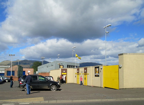 Recreation Park, Alloa, Home Support Entrance