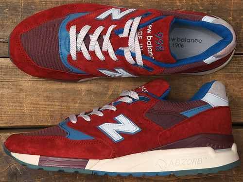 New Balance for J.Crew / M998 [Phoenix Red]