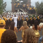 Marching Mizzou And The Golden Girls Rally The Crowd
