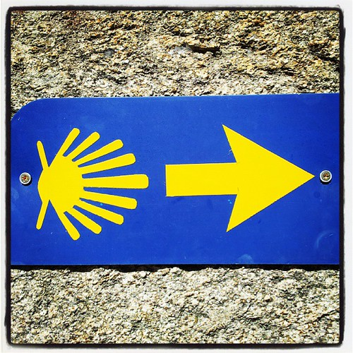 Caminho português interior a Santiago @Camino_Xacobeo @CaminoASantiago