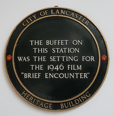 Photo of Brief Encounter black plaque