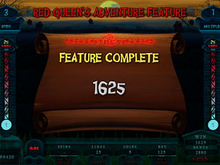 Alaxe in Zombieland Red Queen's Adventure Prize