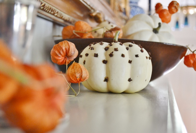 pomander pumpkin