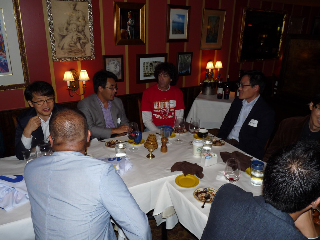 Welcome dinner for authors | (RE)-DISCOVERING SPORT IN KOREA