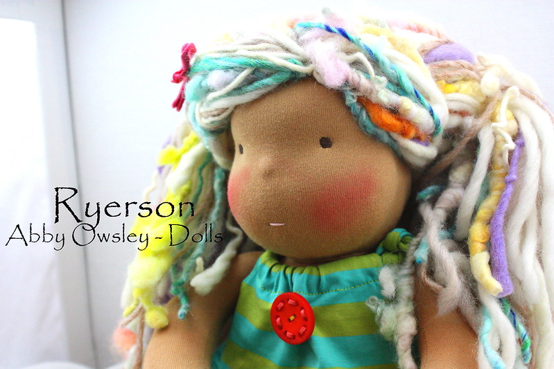 "Ryerson - 16"" Natural doll"